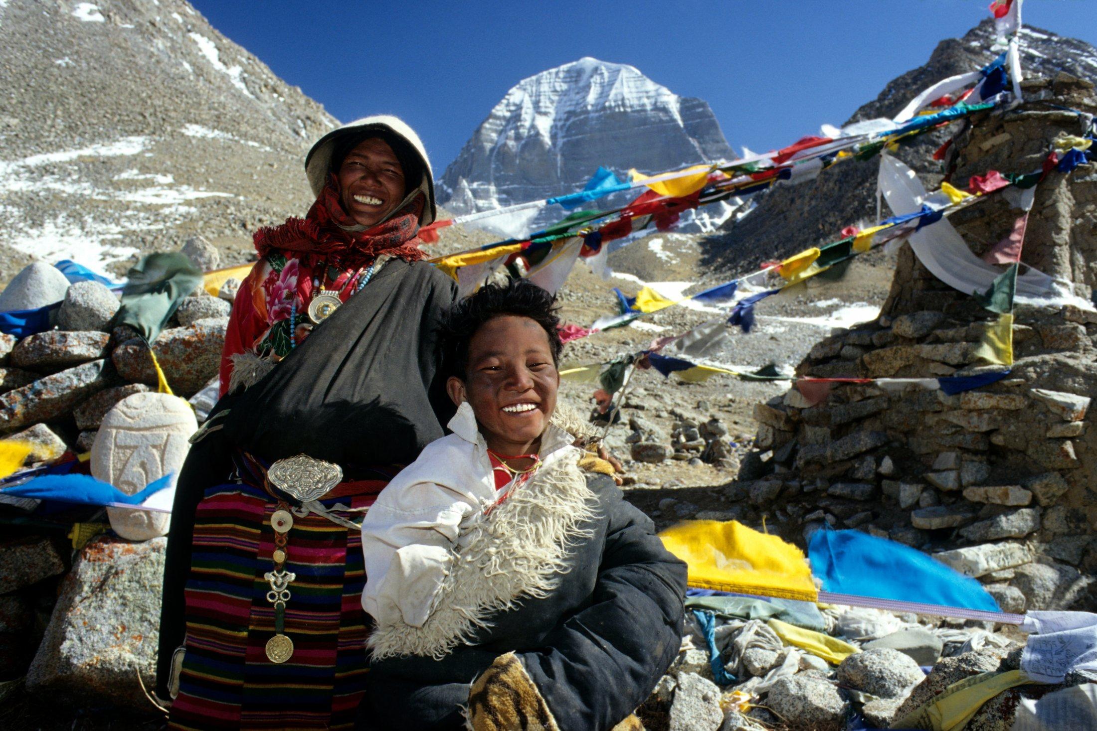 Berg Kailash, Tibet