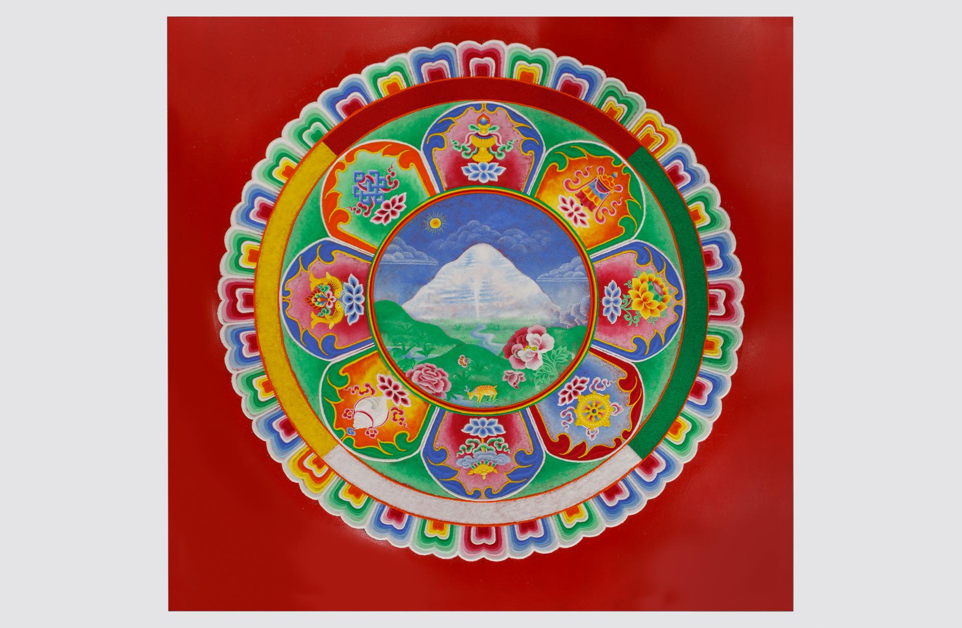 Tibetisches Sandmandala