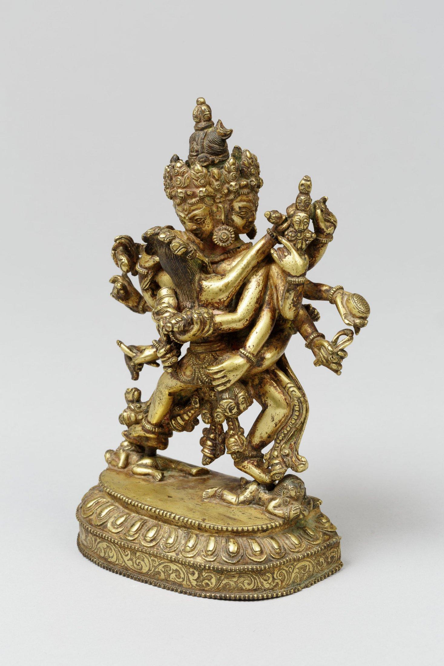 Tibetische Götterskulptur