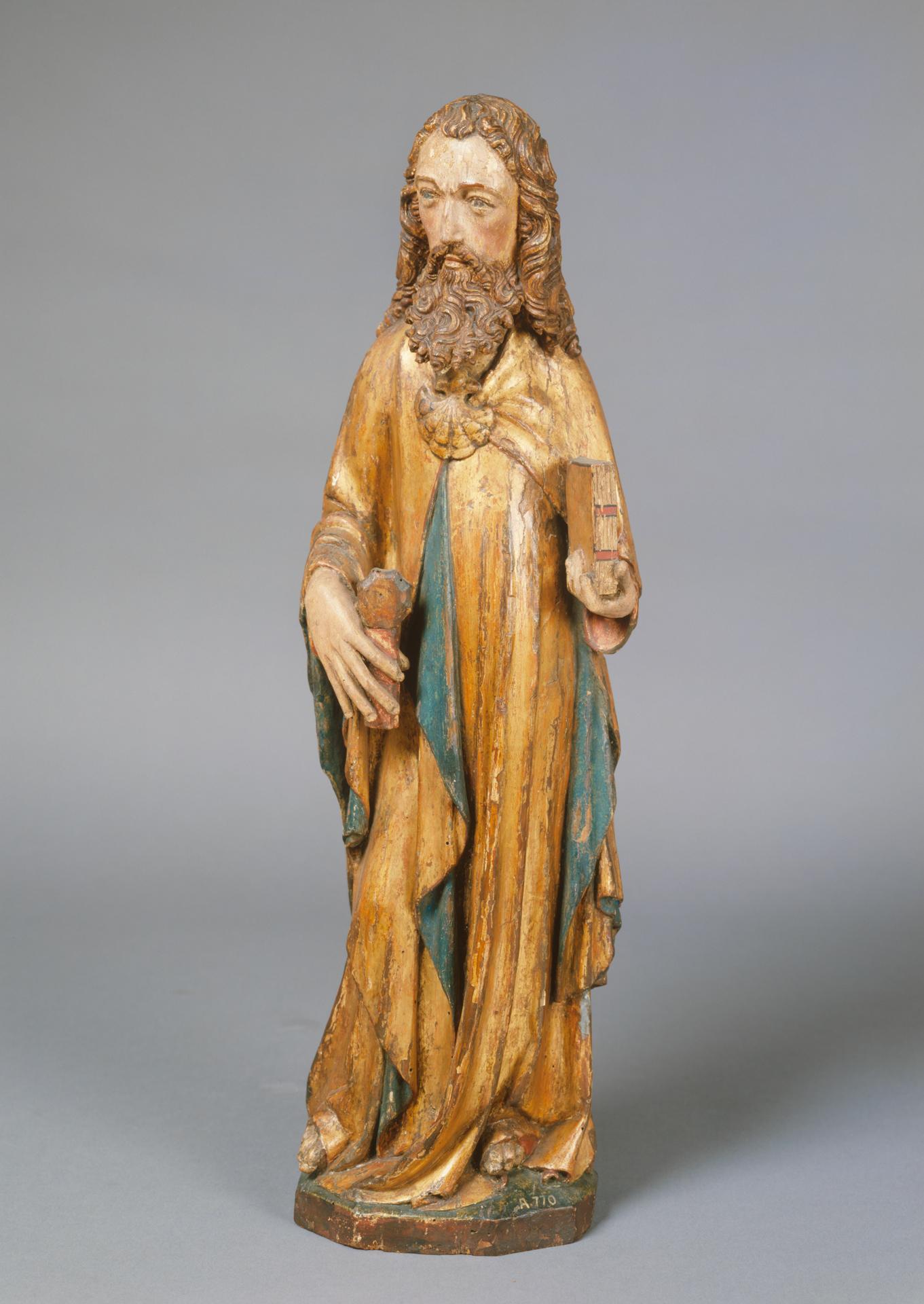 Skulptur eines Schutzpatrons