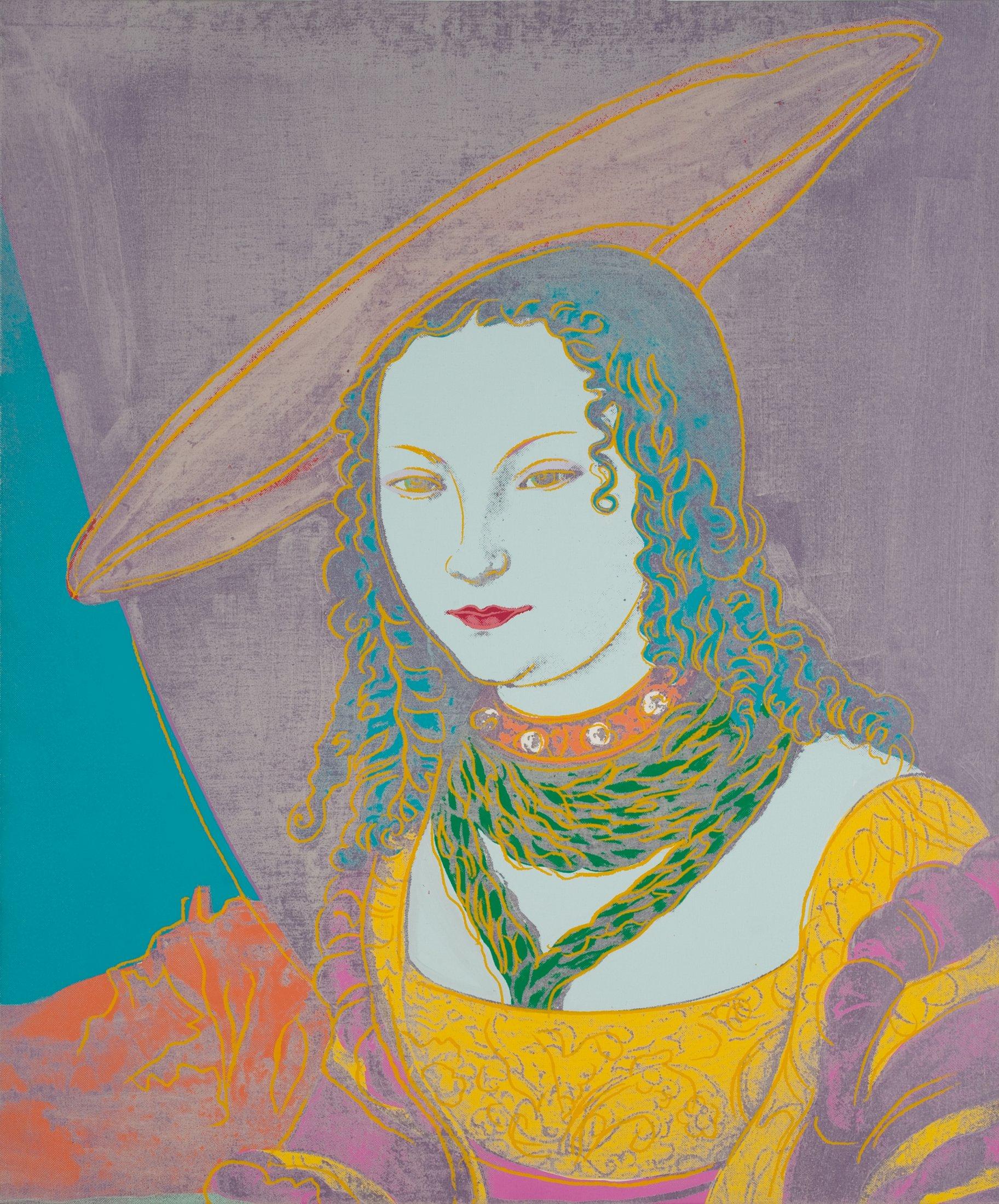 Porträt einer Frau (nach Lucas Cranach)