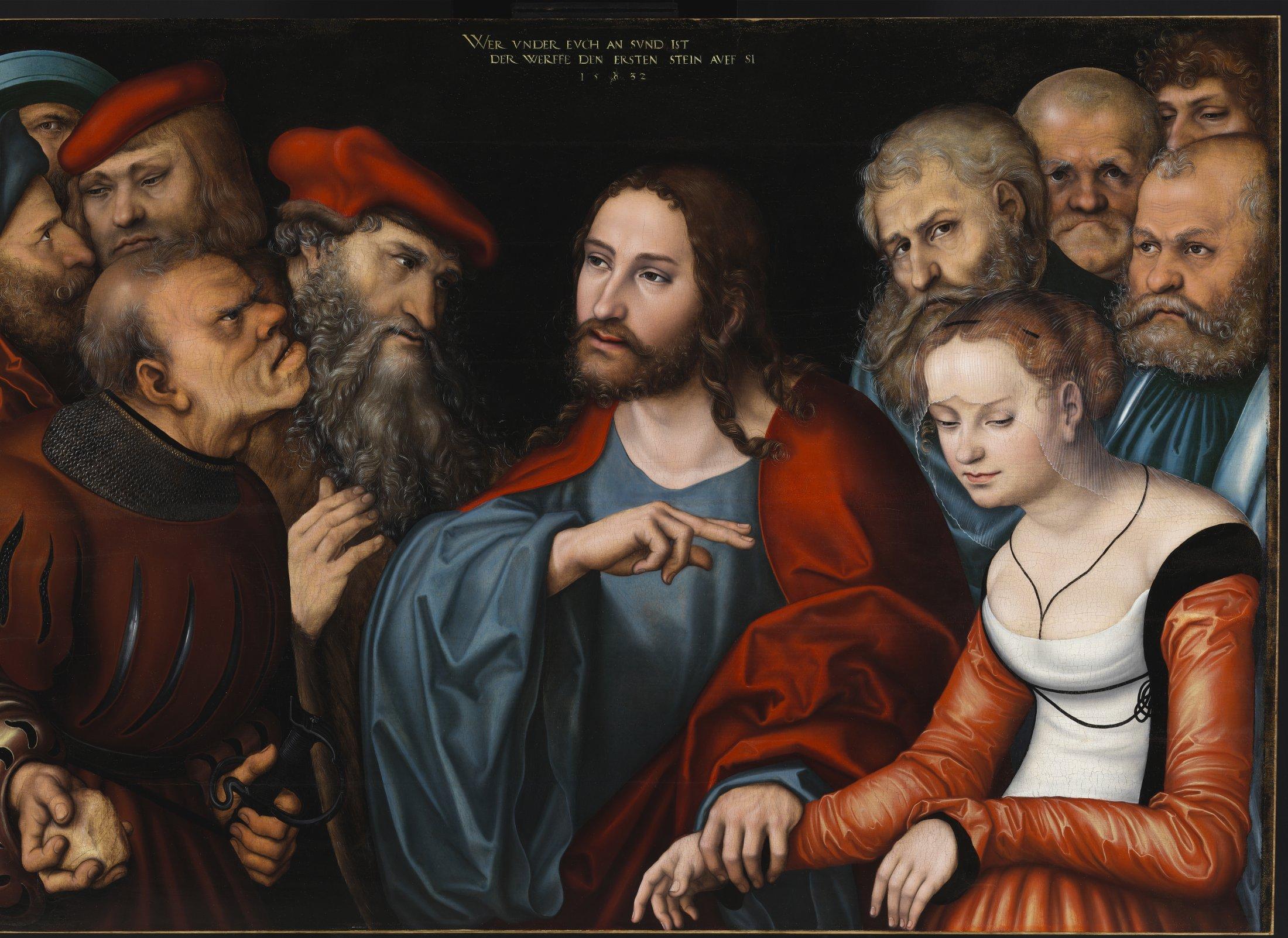 Christus und die Ehebrecherin