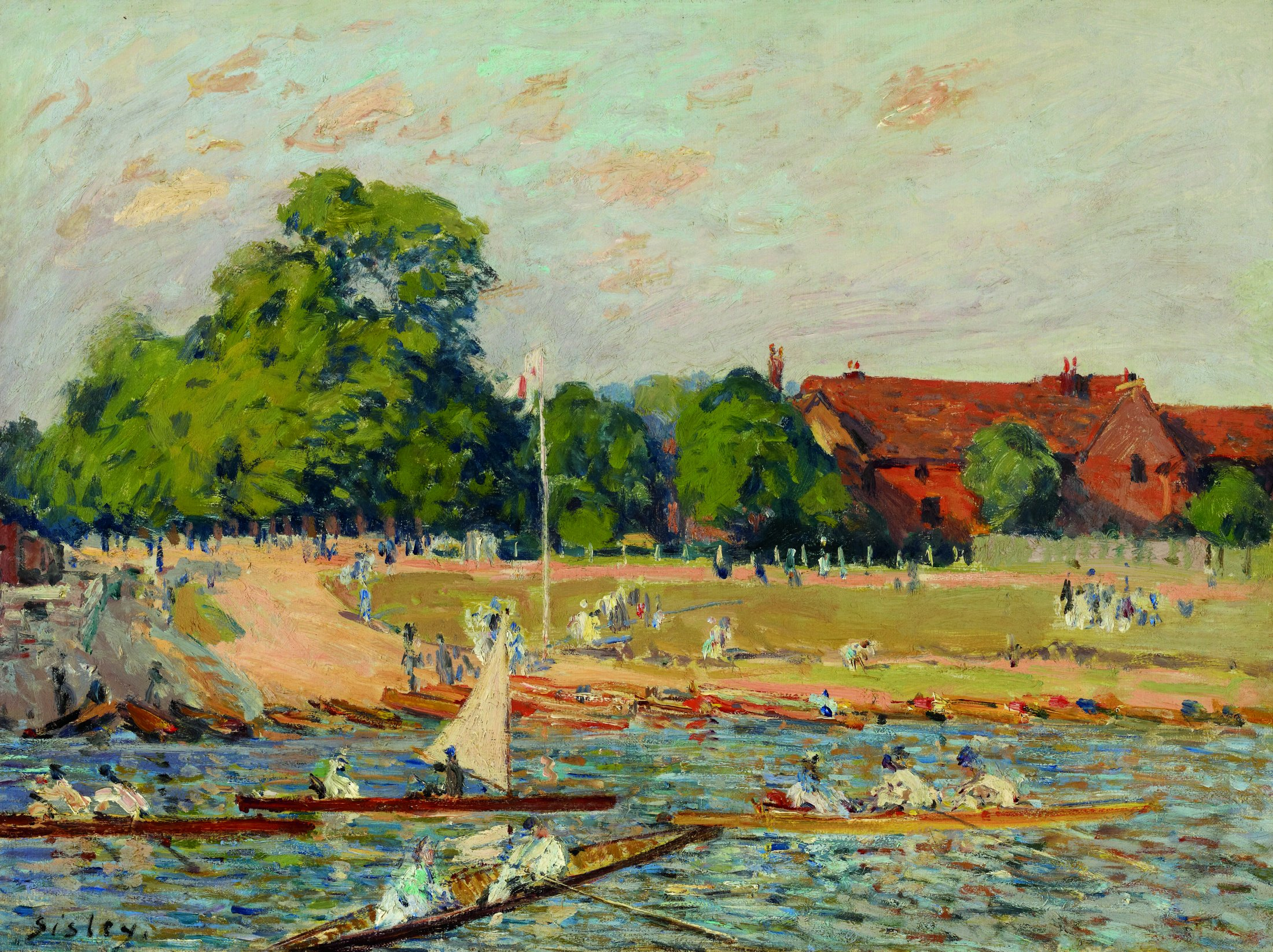 Regatta in Hampton Court