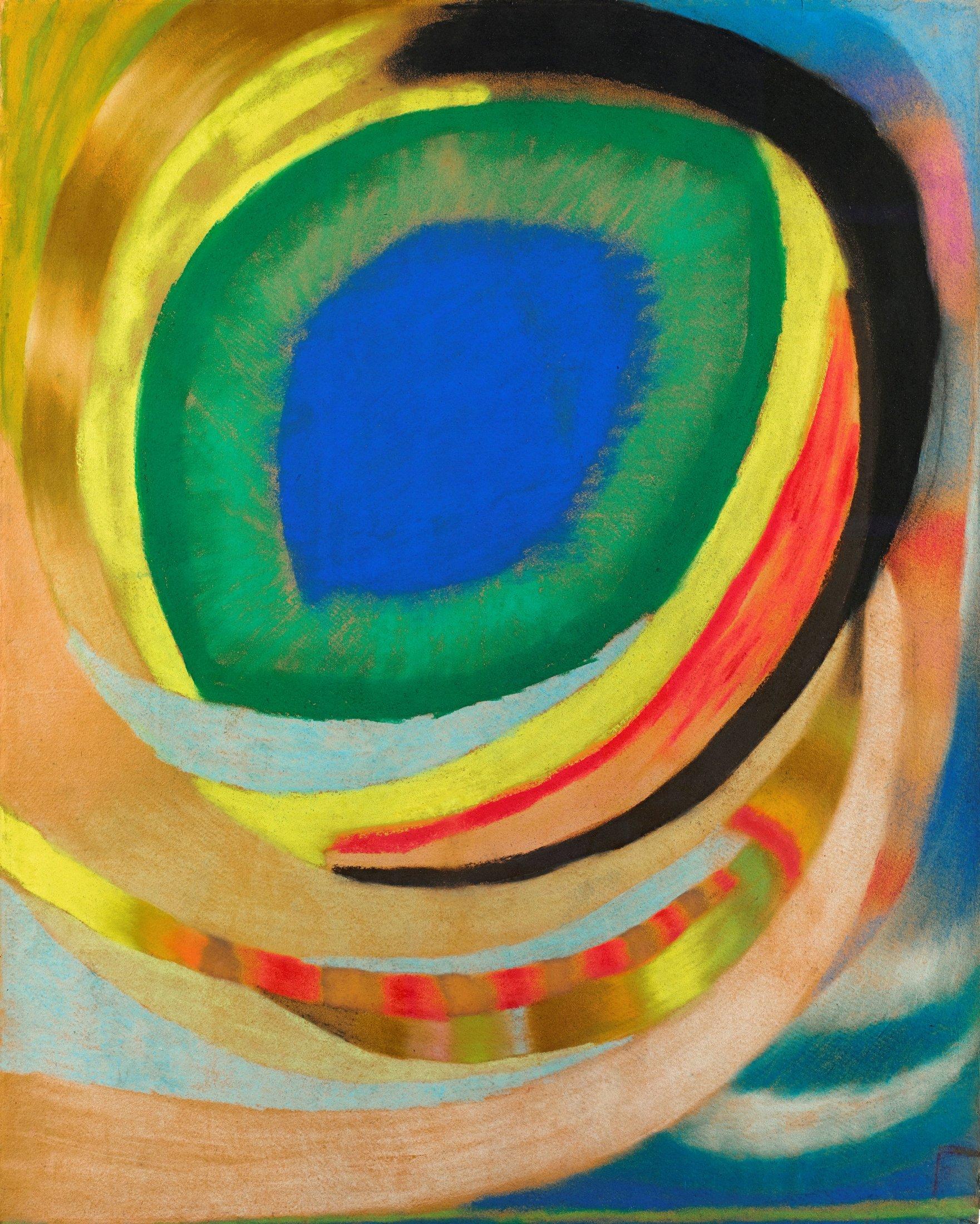 Kosmisches Auge, 1921/22