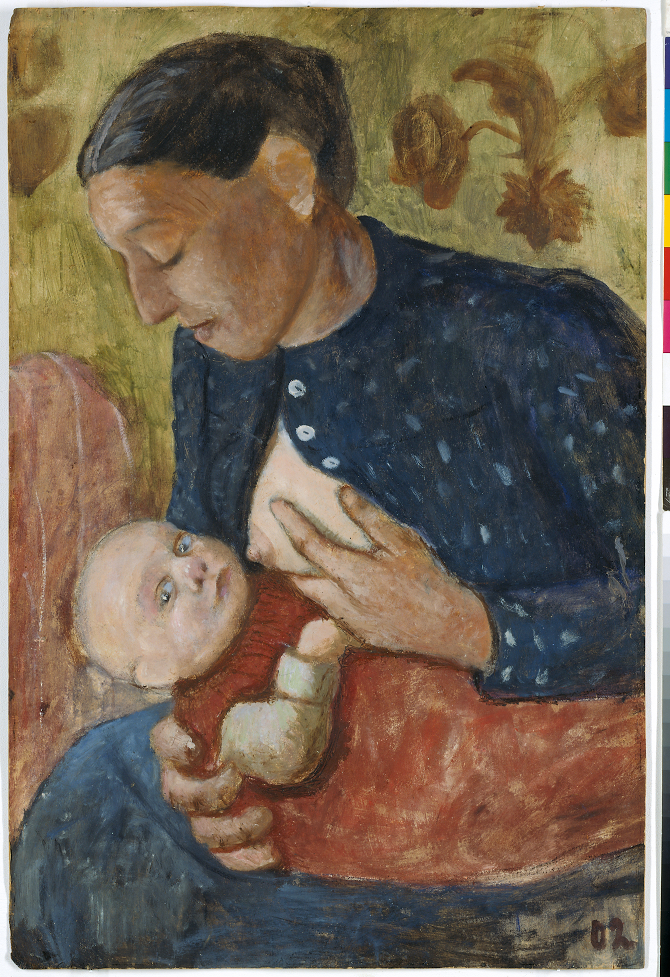 Paula Modersohn-Becker, Stillende Mutter