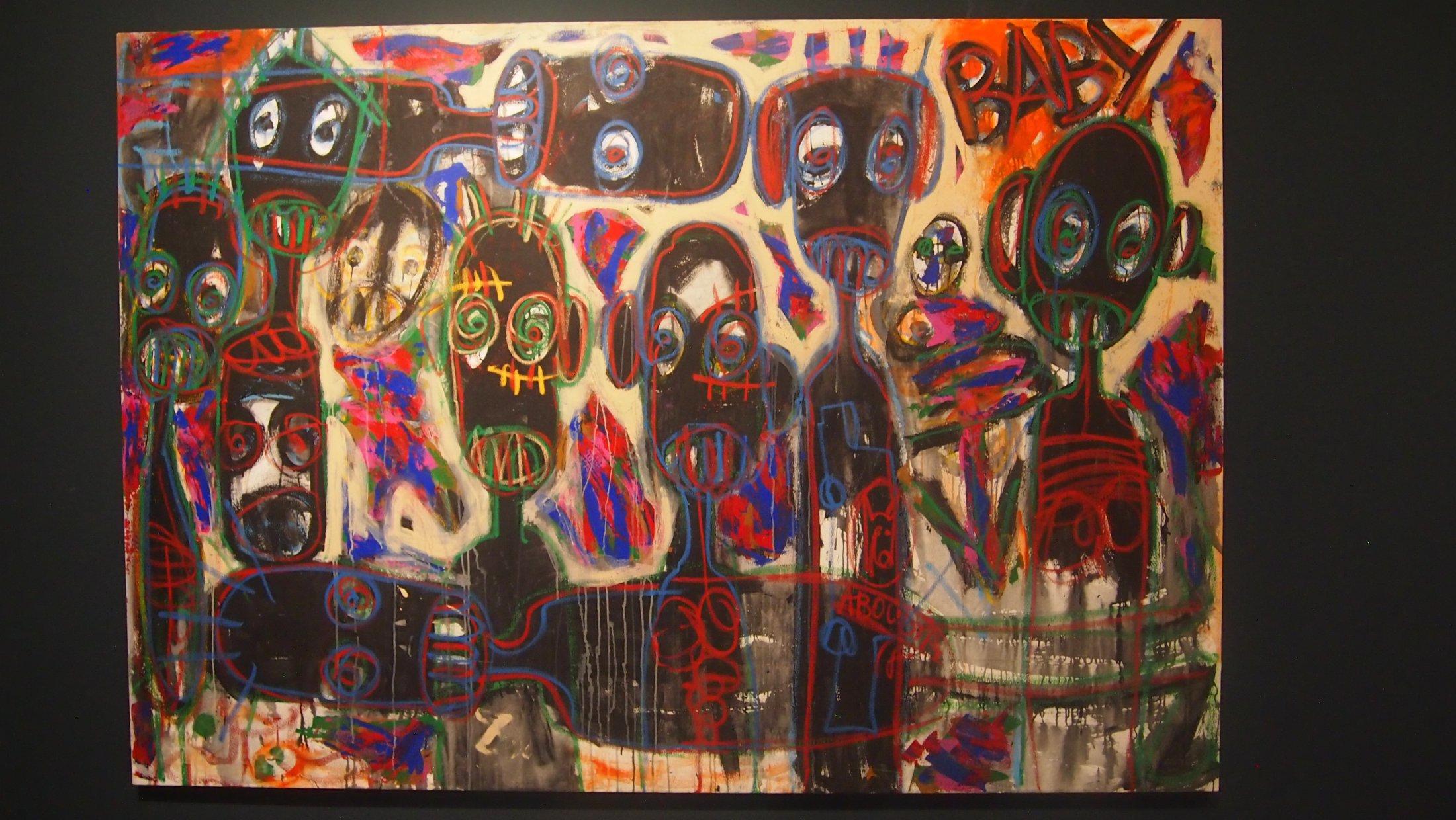 """Aboudia, """"Baby"""", 2016"""