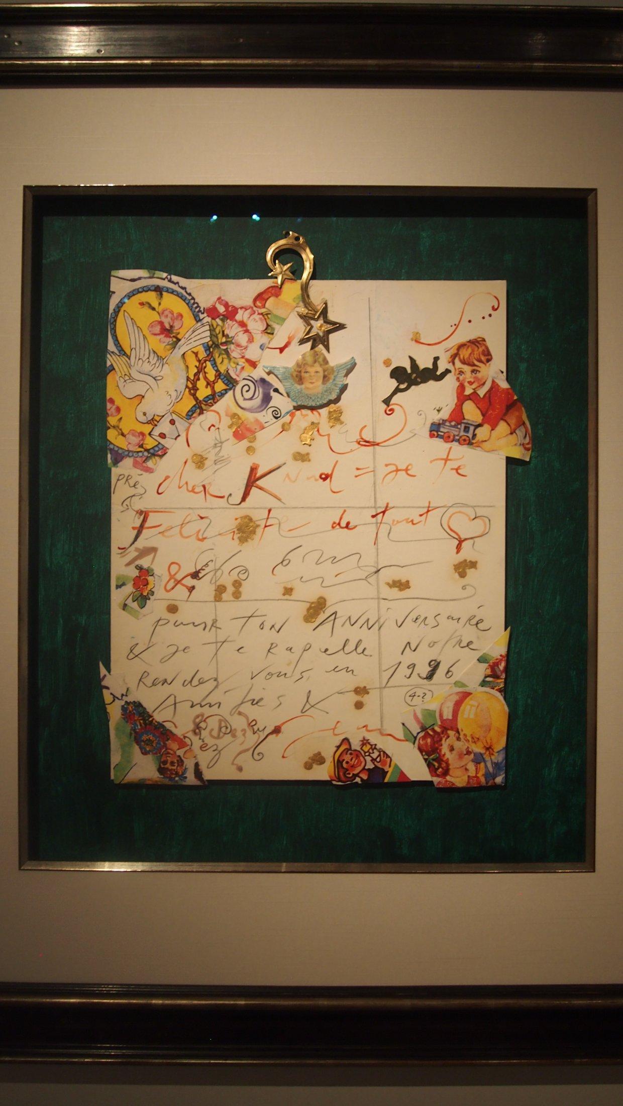 "Jean Tinguely, ""Cher Knud"", 1986"