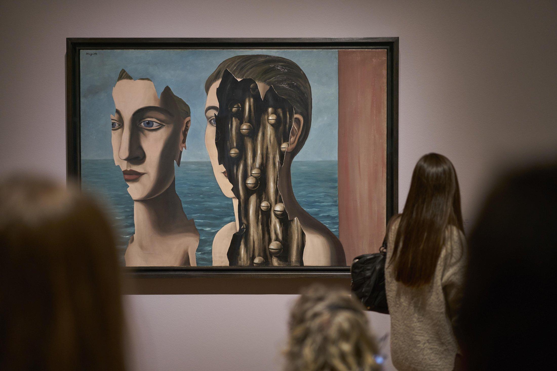 Schirn Presse Magritte Ausstellungsansicht Norbert Miguletz 9