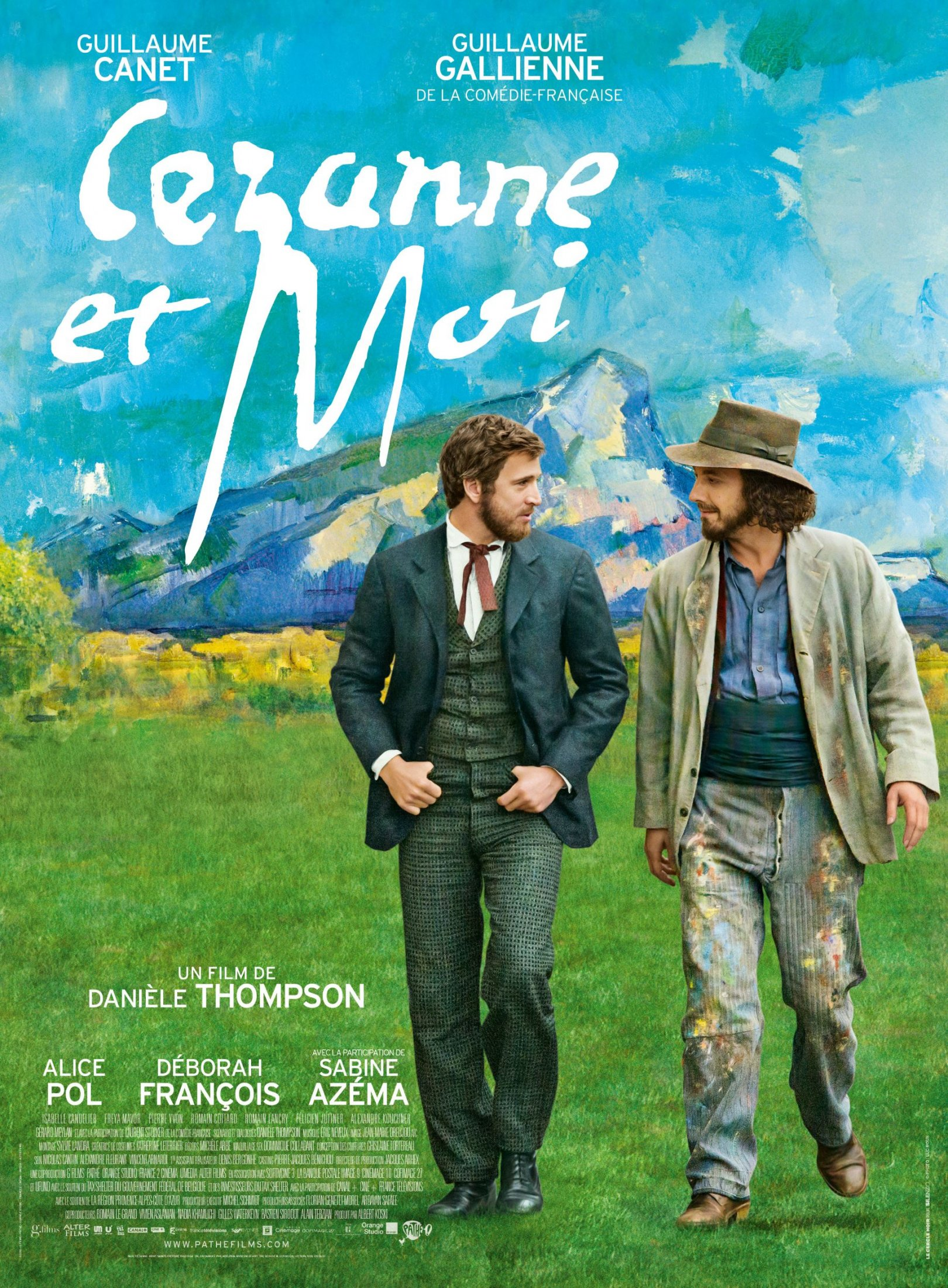 Cezanne Et Moi Filmplakat