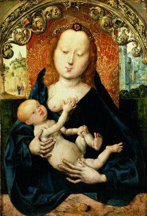 Muttergottes mit der Nuß