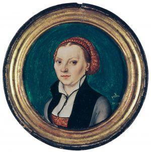 Kapselbildnis der Katharina von Bora