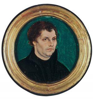 Kapselbildnis des Martin Luther