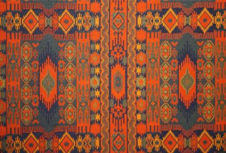 Handgefertigte Decke