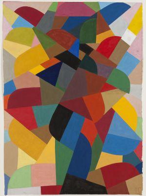 """Otto Freundlich, """"Komposition"""" von 1940"""