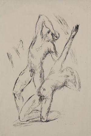 Wilhelm Lehmbruck, Verwundete II (Zwei Jünglinge)