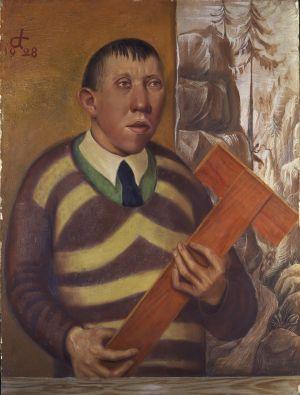 Otto Dix, Bildnis des Malers Franz Radziwill