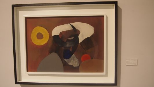 "Fritz Winter, ""Kälte dringt ein"", 1949"