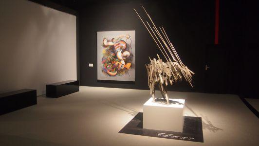 "Galerie Kirbach, rechts: Friedrich Werthmann, ""An Piero della Francesca"", 1959"