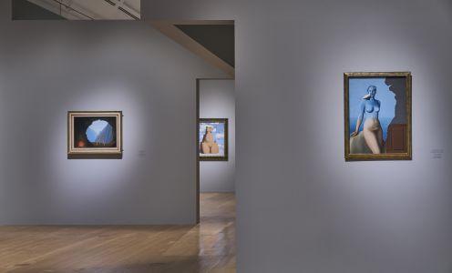 Magritte Ausstellungsansicht