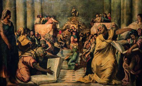 Christus unter den Schriftgelehrten