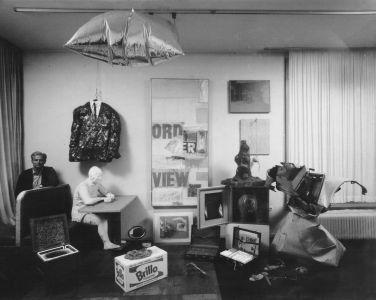 Wolfgang Hahn Kunst Ins Leben Wohnzimmer