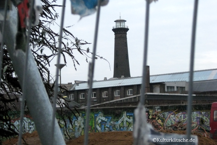 ©Kulturklitsche.de: Der Helios-Turm in Köln-Ehrenfeld.