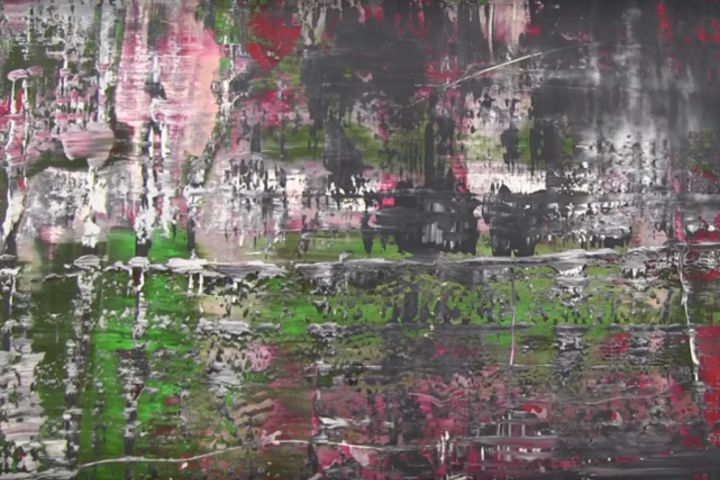 "Detail-Screenshot Video Museum Frieder Burda, Ausstellung ""Gerhard Richter. Birkenau"", Quelle: YouTube"
