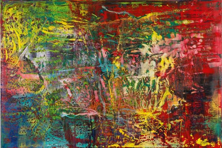 Gerhard Richter Abstraktes Bild (946-3), 2016 Öl auf Leinwand 175 x 250 cm © Gerhard Richter 2016 (221116)