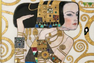 """Gustav Klimt: Sämtliche Gemälde"", Copyright: Cover © TASCHEN / Photographe Luciano ROMANO, société Compagnie Immobilière SAS et consorts STOCLET Bildunterschrift: Cover of the German edition, Artikelbild Kulturklitsche"
